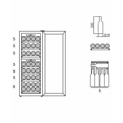 Винный шкаф Wine Craft BC 38BZ 2 GRAND CRU