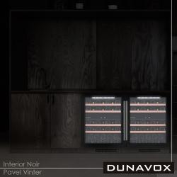 Винный шкаф Dunavox DAU-39.121DB