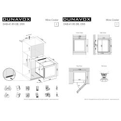 Винный шкаф Dunavox DAB-41.83DB