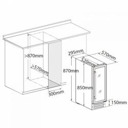 Винный шкаф Dunavox DX-19.58BK