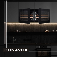 Винный шкаф  Dunavox DAV-18.46B.TO