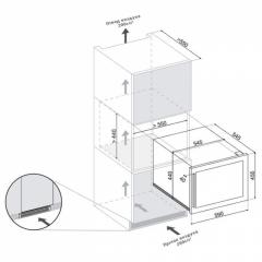 Винный шкаф Dunavox DAB-28.65B