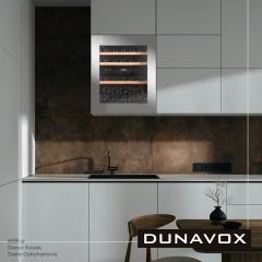 Винный шкаф  Dunavox DAV-32.81DSS.TO