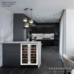 Винный шкаф DUNAVOX DAU-32.83W