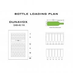 Винный шкаф DUNAVOX  DAB-49.116DB.TO