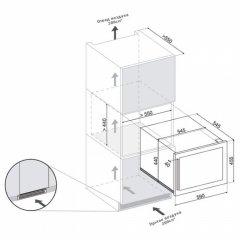 Винный шкаф Dunavox DAB-28.65SS